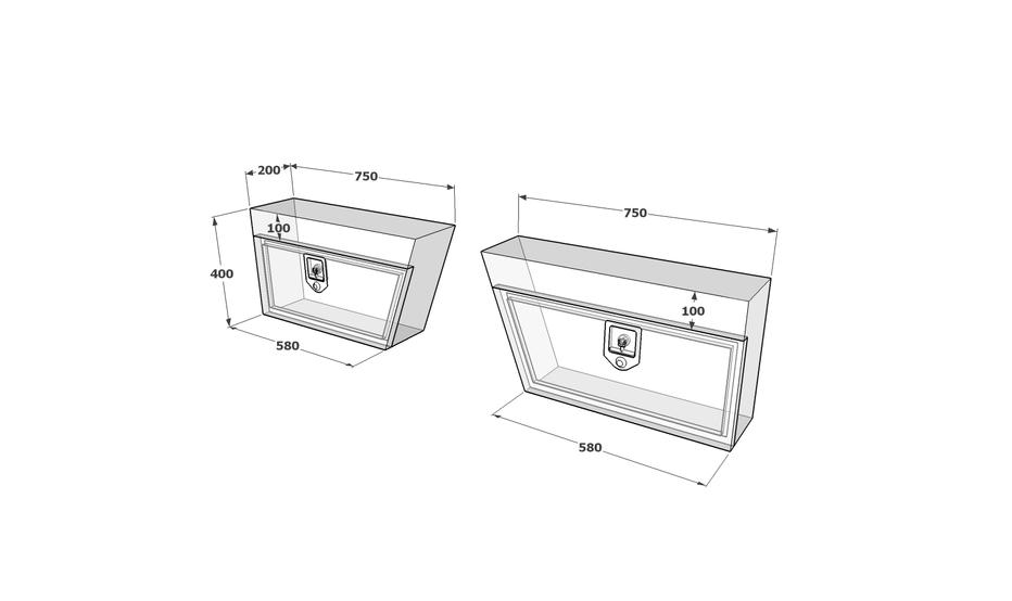 Under tray toolbox