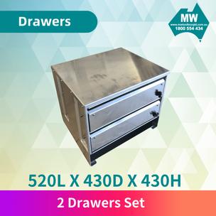 2 drawer set