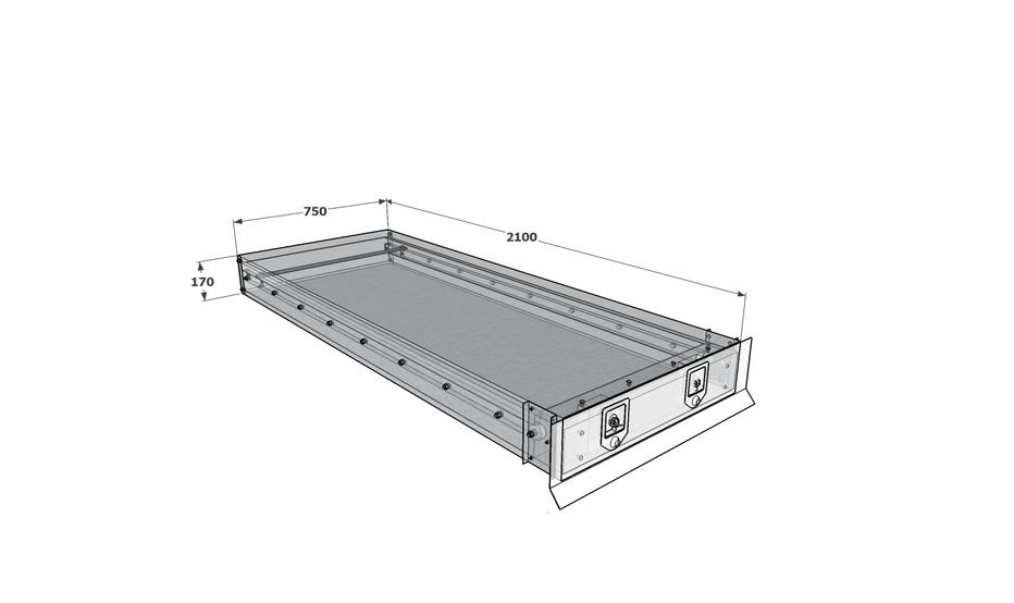 Under tray draw