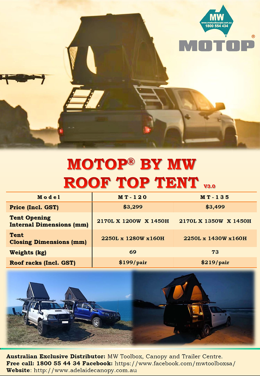 Roof top tent v3
