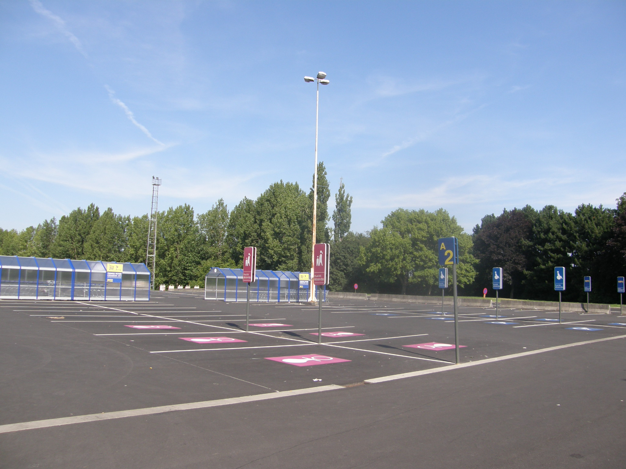 Aménagement parking