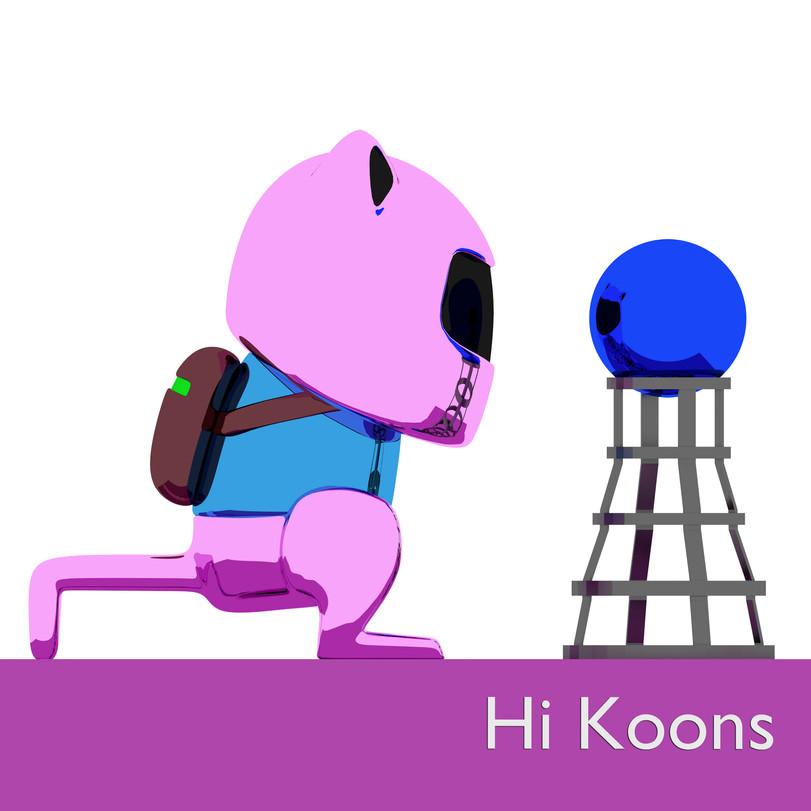 11.Hi,Koons_50cmx50cm_pigment print_Ed.2