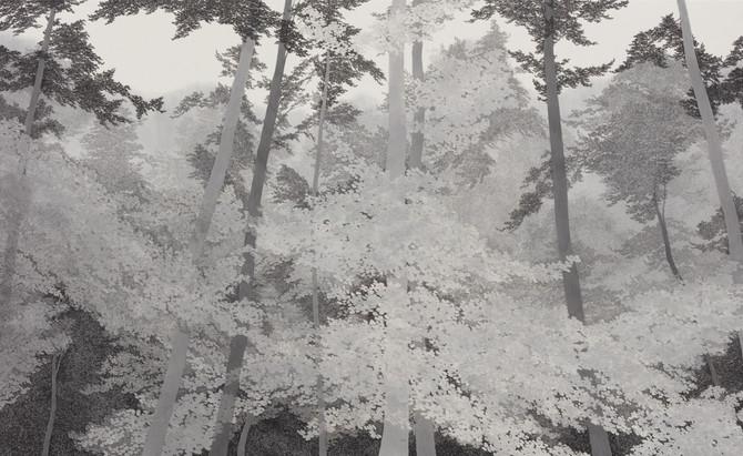 Forest symphony_한지에 수묵_89.5×145.5cm_2021.jpg