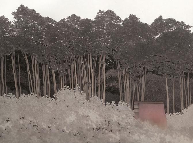 권소영 Landscape 97×130cm 한지에 수묵담채 2018.jpg