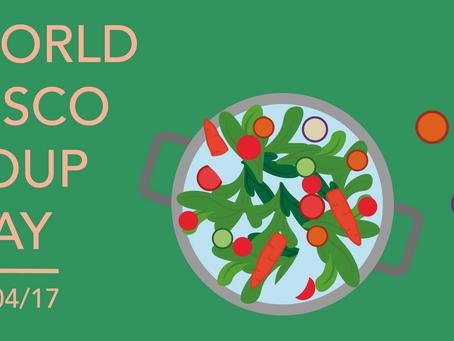 World Disco Soup Day April 29th 2017
