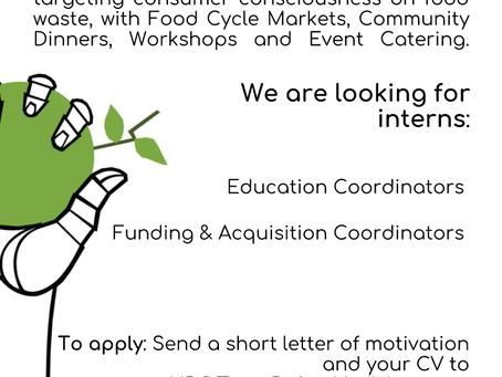 Internship Opportunity!