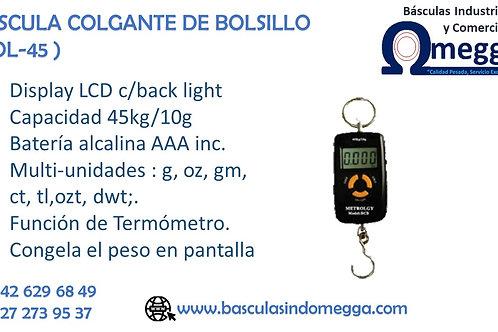 BÁSCULA COLGANTE DE BOLSILLO