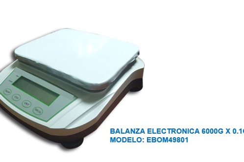 BALANZA ELECTRONICA 6000gx0.1g