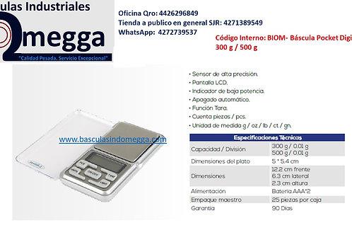 Báscula Pocket Digital