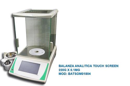 BALANZA ANALITICA TOUCH SCREEN 220G X 0.1MG