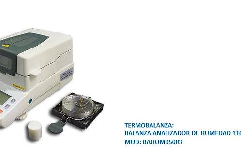 BALANZA ANALIZADOR DE HUMEDAD 110G