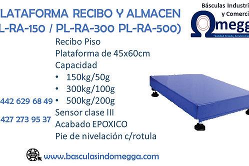 PLATAFORMA RECIBO Y ALMACÉN