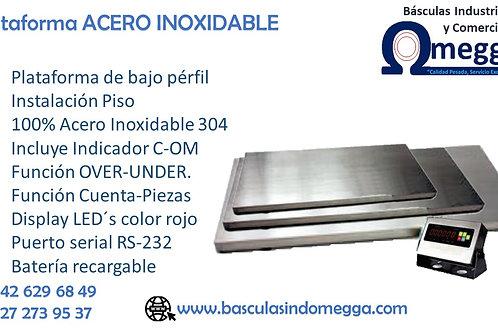 Plataforma ACERO INOXIDABLE