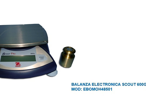 BALANZA ELECTRONICA OHAUS SCOUT 600GR SP601