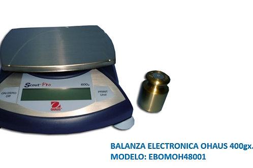 BALANZA ELECTRONICA OHAUS