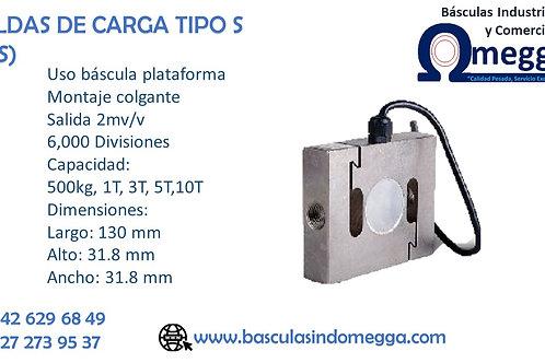 CELDAS DE CARGA TIPO S