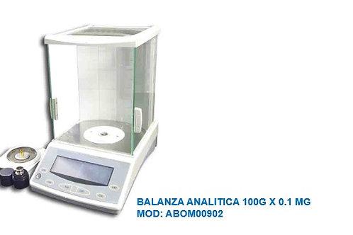 BALANZA ANALITICA 100G X 0.1 MG