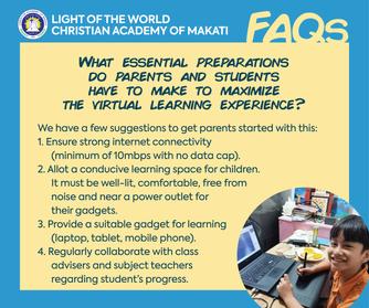 Virtual Learning Preparations