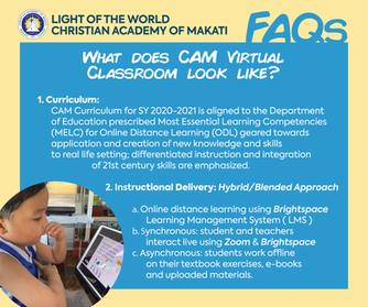 CAM Virtual Classroom