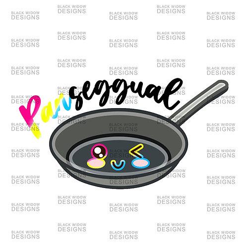 PANseggual Pansexual Sticker