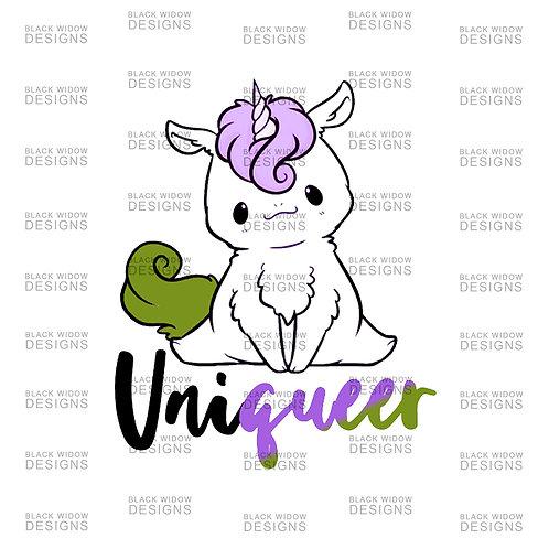 uniQUEER Genderqueer Sticker