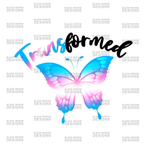 TRANSformed Transgender Sticker