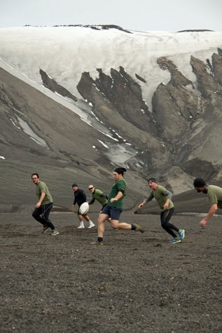 Antarctic rugby