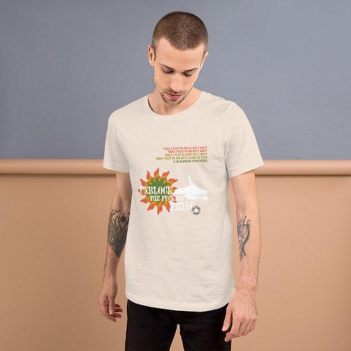 UNBLOCK THE THING camiseta de algodón