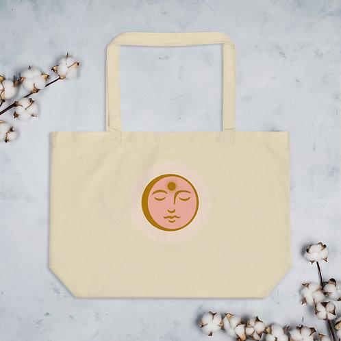 FULL MOON Large organic tote bag
