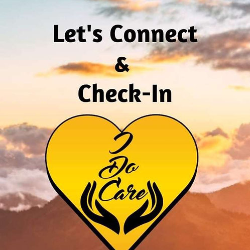 Let's Connect, I Do Care Card Series