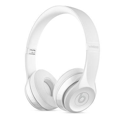 Beats Solo3 Wireless 頭戴式耳機 – 閃白色