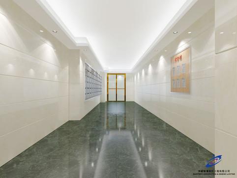 利新大廈大堂設計方案