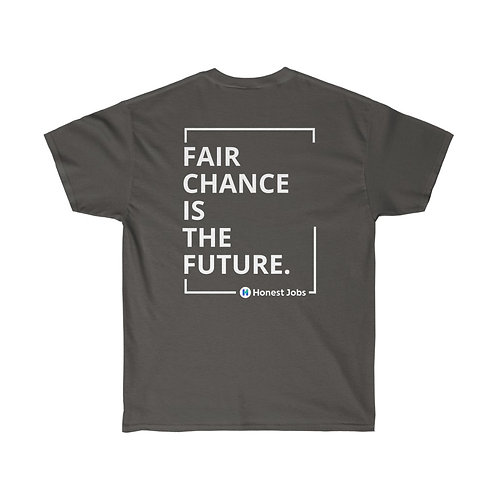 Second Chances is the Future Dark Unisex Ultra Cotton Tee