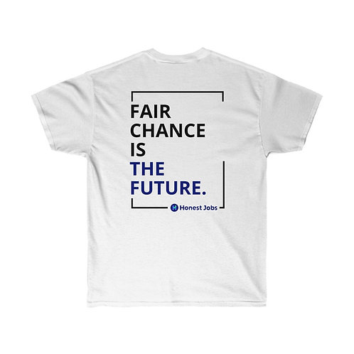 Second Chances is the Future Light Unisex Ultra Cotton Tee