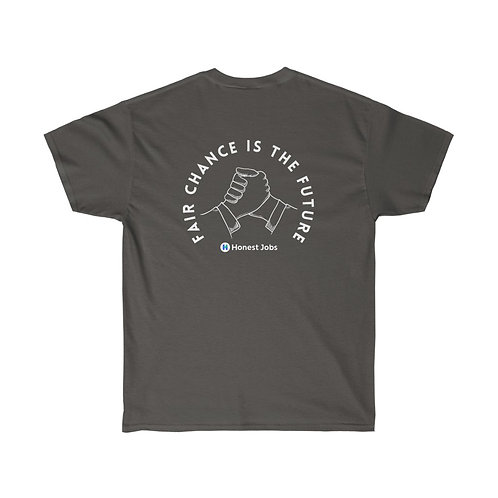 Second Chances is the Future Hands Dark Unisex Ultra Cotton Tee