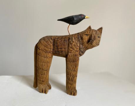 Cat & Blackbird