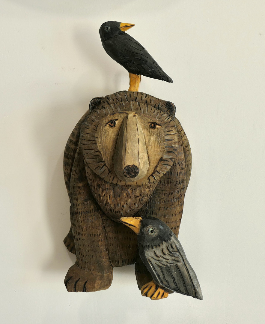 Bear & Blackbirds