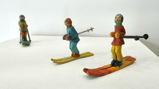 Skiier Ornament
