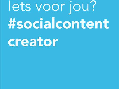 (Social) Content Creator