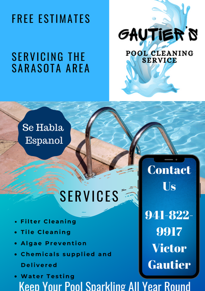 Pool Cleaning Flyer