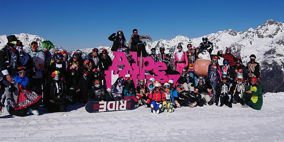 The Big Club Ski Trip - Tignes, France