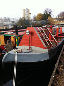 Deck board & headlamp in place