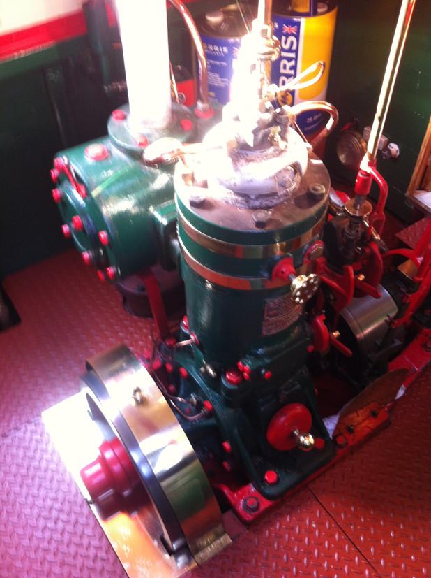15hp Bolinder Engine