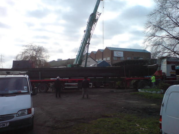 on to the lorry