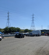 Spacious carpark
