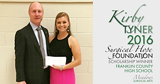 2016 Franklin County Scholarship Winner | Meadows Surgical Arts | Cosmetic Surgery Atlanta