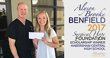 2017 Habersham Central Scholarship Winner | Meadows Surgical Arts | Cosmetic Surgery Atlanta