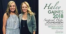 2018 Franklin County Scholarship Winner | Meadows Surgical Arts | Cosmetic Surgery Atlanta