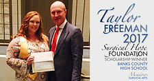 2017 Bank County Scholarship Winner | Meadows Surgical Arts | Cosmetic Surgery Atlanta