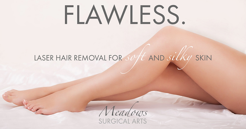 Laser Hair Removal at Meadows Surgical Arts | Cosmetic Surgery North Georgia